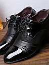 Bărbați Pantofi PU Primăvară Toamnă Confortabili Oxfords pentru Casual Negru Maro