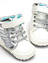 Bebeluș Pantofi PU Imitație de Piele Iarnă Toamnă Confortabili Adidași pentru Casual Alb