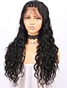 Äkta hår Spetsfront Peruk Brasilianskt hår Löst vågigt Frisyr i lager 130% Densitet obearbetade 100% Jungfru Till färgade kvinnor