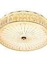 Montaggio del flusso Luce ambientale Galvanizzato Metallo Cristallo, Lampadine incluse 110-120V / 220-240V Bianco caldo / Bianco freddo Sorgente luminosa a LED inclusa / LED integrato
