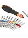 12 i 1multi verktyg professionell skruvmejsel uppsättning färgring skruvmejsel multifunktionella magnet skruvbitar kit reparationsverktyg