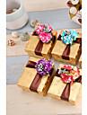 cuboid card hârtie favoarea titular cu flori favoarea cutii-12 nunti favoruri