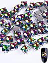 10 Glitter Tillbehör Kristall Trimnings Konst Dekor / Retro Nail Smycken Gör-det-själv-produkter Bröllop 3D Glitters kristall Lyx