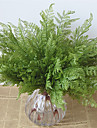 1 ramură plante de plastic tabletop flori artificiale flori proaspete