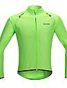 SANTIC Veste de Cyclisme Homme Femme Unisexe Velo Veste Vetement Pour Se Proteger du Soleil Impermeable Hauts/Top Tenues de Cyclisme