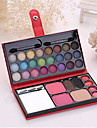 1Make Up Box 24 Eye Shadow 2 Blush 2 Eyebrow Powder 1 Powder 4 Lipstick Cosmetic