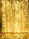 4m Fâșii de Iluminat 300 LED-uri Dip Led Alb Cald / Alb Rece / Albastru De Legat 220-240 V 1 buc / IP65
