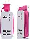 hzn402 încărcător telefon mobil multifuncțional plug-in încărcător USB 4usb multi-port plug de călătorie