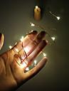 1W Fâșii de Iluminat 180 <5 2m 20 led-uri Alb Cald