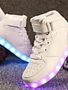 Damă Pantofi Materiale Personalizate Imitație de Piele Tot Sezonul Iarnă Confortabili Pantofi Usori Adidași Vârf rotund Pentru Casual Alb