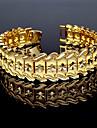 Bărbați Brățări Bantă / Brățară - Placat Auriu Vintage Brățări Auriu Pentru Cadou / Casual