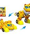 Robot Barcos de juguete Coche de carreras Vehiculos Dinosaurio Animal Transformable Animales Interaccion padre-hijo Animal Plastico blando Ninos Juguet Regalo 1 pcs