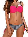 Pentru femei Boho Bikini Mată Cu Bretele