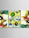 Peinture a l\'huile Hang-peint Peint a la main - Abstrait simple Moderne Toile