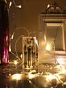 40 lysdioder 4M strängljus Varmvit Kallvit Multifärg Grön Blå Röd Julbröllopsdekoration Dekorativ <5V