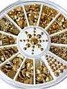 1 Nail Smycken Glitters Metallisk Mode Hög kvalitet Dagligen