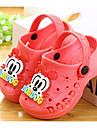 Fete Pantofi Piele PVC Primăvară Vară Confortabili Sandale Plimbare Imprimeu Animal pentru Casual Piersică Albastru Roz Albastru Deschis