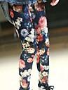 Fete Pantaloni Floral Celofibră Modal Primăvară Toamnă Draguț Activ Curcubeu