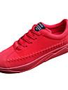 Bărbați Pantofi PU Primăvară / Toamnă Confortabili Adidași Negru / Gri / Rosu