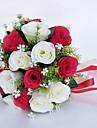 """Flori de Nuntă Buchete Nuntă / Ocazie specială Poliester 9.84""""(Approx.25cm)"""