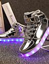 Κοριτσίστικα Παπούτσια Λουστρίν / Προσαρμοσμένα Υλικά Άνοιξη / Χειμώνας Ανατομικό / Φωτιζόμενα παπούτσια Αθλητικά Παπούτσια Περπάτημα Κορδόνια / Γάντζος & Θηλιά / LED για Ασημί / Μπλε / Ροζ / TR