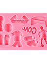 bakformen Choklad Paj Tårta Silikon Miljövänlig GDS (Gör det själv) Hög kvalitet