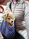 Câine rucsac Animale de Companie  Genţi Transport Portabil Buline Albastru Închis Rosu Albastru