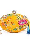 Pentru femei Genți Mătase Geantă Seară Detalii Cristal Broderie Franjuri pentru Nuntă Evenimente/Petrecere Toate Sezoanele Albastru