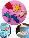 Cake Moulds För Godis Kakor Tårta Muffin Kaka Kiselgel GDS (Gör det själv) Thanksgiving alla hjärtans dag Födelsedag Bakning Verktyg