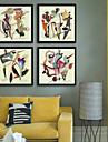 Abstract Peisaj Ilustrație Wall Art,Plastic Material cu Frame For Pagina de decorare cadru Art Sufragerie Interior
