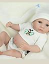 NPK DOLL Muñecas reborn Bebé 12 pulgada Cuerpo completo de silicona Silicona Vinilo - natural Bonito A mano Segura para Niños Non Toxic Encantador Kid de Chica Juguet Regalo / Interacción padre-hijo