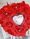 Raso Cuscino per fedi Romanticismo / Matrimonio Per tutte le stagioni