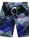 Bărbați Drept / Pantaloni Chinos Pantaloni - Imprimeu, Geometric / Sport