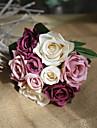 9 ramură Mătase Trandafiri Față de masă flori Flori artificiale