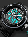 SKMEI Ανδρικά Καθημερινό Ρολόι Αθλητικό Ρολόι Ψηφιακό ρολόι Ψηφιακή Συνθετικό δέρμα με επένδυση Μαύρο 50 m Ανθεκτικό στο Νερό Ημερολόγιο Χρονογράφος Αναλογικό-Ψηφιακό Πολυτέλεια Καθημερινό -