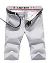 Bărbați Șic Stradă Mărime Plus Size Talie Joasă Bumbac Zvelt Pantaloni Scurți Pantaloni Chinos Pantaloni Mată
