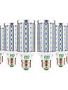 YWXLIGHT® 6pcs 25W 2000-2500lm E26 / E27 Ampoules Mais LED T 72 Perles LED SMD 5730 Decorative Blanc Chaud Blanc Froid 85-265V