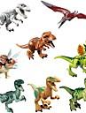 Interlocking Blocks Dinosaur Animal Classic 8 pcs Pieces Kid\'s Boys\' Girls\' Toy Gift