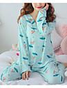 Pentru femei În U Costume Pijamale Geometric