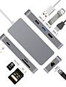 7 Hub USB USB 3.0 USB 3.0 Tip C Înaltă Viteză , , Sol A4 Bay,