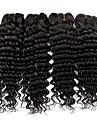 Brasilianskt hår Vågigt Hårförlängning av äkta hår 50g x 4 Heta Försäljning Förlängning Hårförlängningar av äkta hår Alla Julklappar Jul