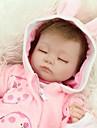 NPKCOLLECTION NPK DOLL Reborn-dukker Girl Doll Babyjenter 18 tommers Full Body Silicone Silikon - Newborn liv som Nuttet Haandlaget Barnesikker Ikke Giftig Barne Unisex / Jente Leketoey Gave / CE