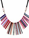 Statement Necklace Vintage Lovely Rainbow 50 cm Necklace Jewelry For Daily Masquerade