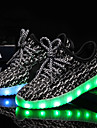 Αγορίστικα / Κοριτσίστικα Παπούτσια Πλεκτό / Τούλι Καλοκαίρι / Φθινόπωρο Φωτιζόμενα παπούτσια Αθλητικά Παπούτσια LED για Παιδικά Μαύρο /