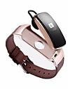 STSB3PLUS Άντρες Έξυπνο ρολόι Android iOS Bluetooth Αδιάβροχη Συσκευή Παρακολούθησης Καρδιακού Παλμού Μέτρησης Πίεσης Αίματος Οθόνη Αφής Μεγάλη Αναμονή / Βηματόμετρο / Υπενθύμιση Κλήσης