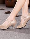 Pentru femei Pantofi Moderni Materiale Personalizate Călcâi Toc Personalizat Personalizabili Pantofi de dans Auriu / Negru / Albastru