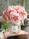 Kunstbloemen 5 Tak Bruiloft Bruidsboeketten Pioenen Eeuwige bloemen Bloemen voor op tafel