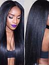 Remy kosa Lace Front Perika stil Brazilska kosa Ravan kroj Perika 150% Gustoća kose s dječjom kosom 100% Djevica Žene Dug Perike s ljudskom kosom beikashang