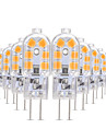 YWXLIGHT® 10pcs 3W 200-300lm G4 Becuri LED Bi-pin T 12 LED-uri de margele SMD 2835 Alb Cald / Alb Rece / Alb Natural 12V