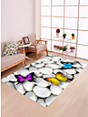 Area Rugs Traditional / Country Flannelette, Flat Shape Superior Quality Rug